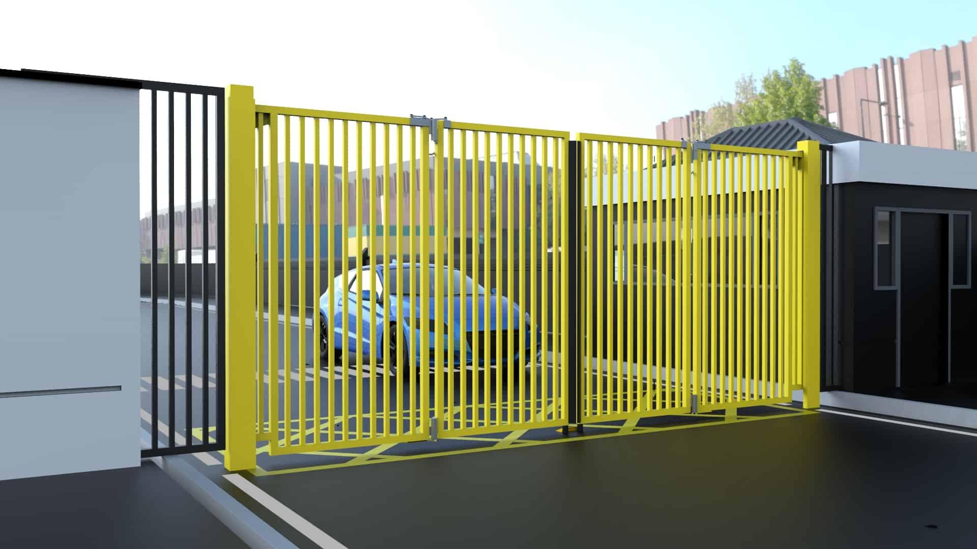 Bi Folding Speed Gates