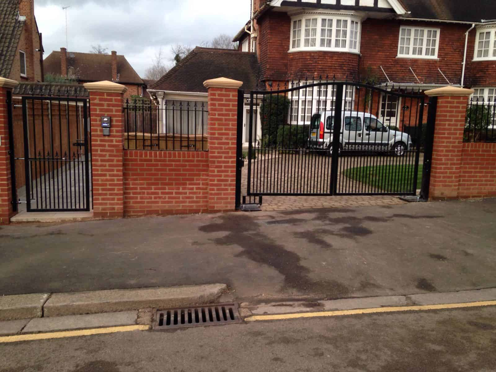 Steel gates for driveways expert security uk