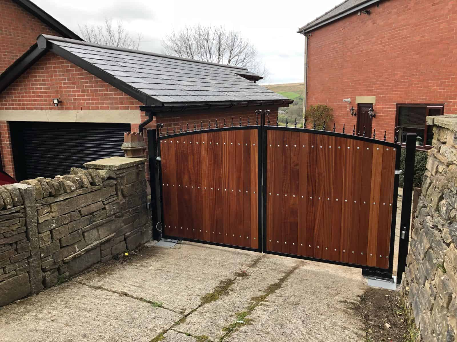 Wooden gates for driveways expert security uk