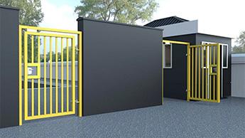 Pedestrian Access Gates